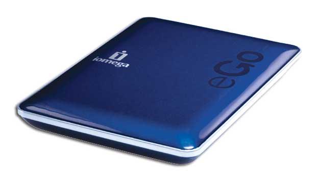 eGo, la nueva generación de discos portátiles Iomega