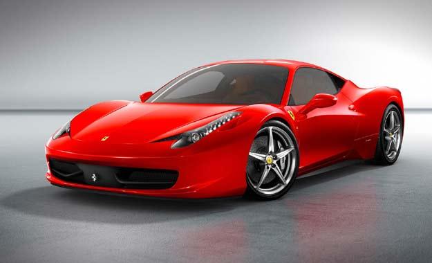 Ferraris 458 Italia a revisión