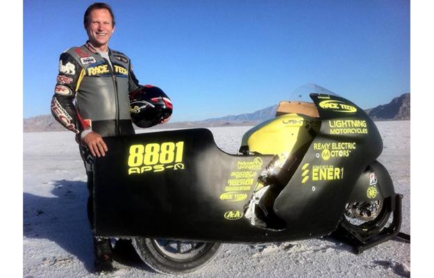 Nuevo récord de velocidad para motos eléctricas