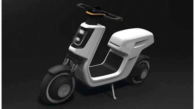 Volkswagen E-Scooter Concept debuta en Shanghai