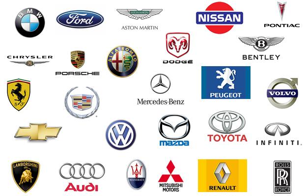 El significado de los emblemas de las marcas de autos for Imagenes de productos americanos