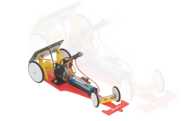 Kit De Auto De Carreras Solar De Steren