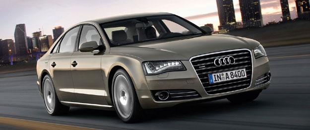 El Audi A8 con sistema de internet integrado