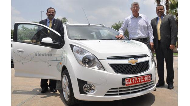 Se presenta el Chevrolet Beat Eléctrico en la India