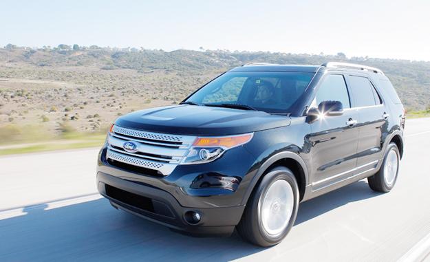 Ford Explorer 2011: Fotografías exclusivas
