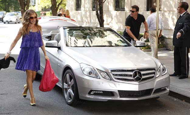 "Mercedes-Benz protagonista en ""Sex and the City 2"""