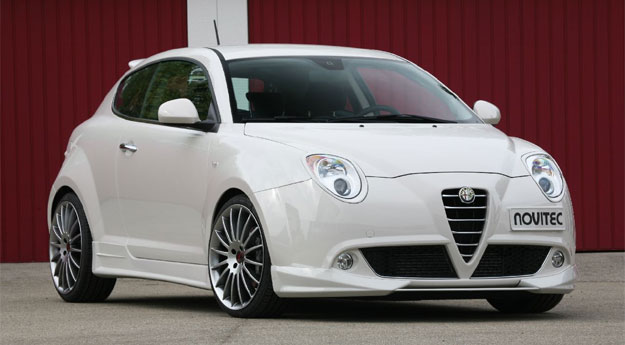 tuning alfa romeo mito por novitec. Black Bedroom Furniture Sets. Home Design Ideas