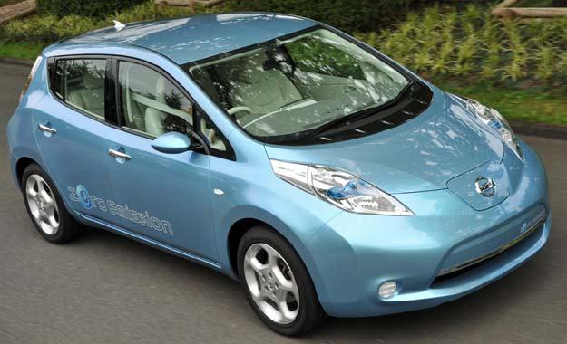 Nissan LEAF: auto del año en Europa