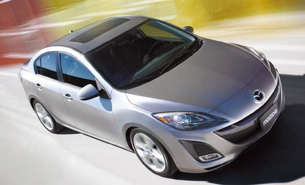 Telas de araña en autos Mazda6