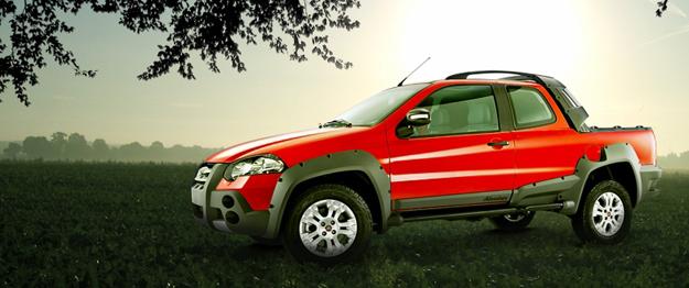 Fiat Strada Adventure Doble Cabina arriba a Chile