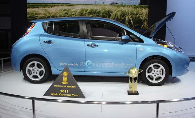 """El Nissan LEAF ganó el premio """"WORLD CAR OF THE YEAR 2011"""""""