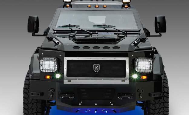 """Conquest Knight XV (2010): Un SUV con """"aire"""" militar"""