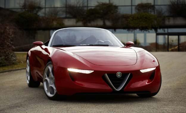 Alfa Romeo 2uettottanta Spider 2010: homenaje a la leyenda