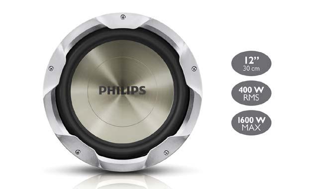 Philips: sistemas de entretenimiento, parlantes y amplificadores
