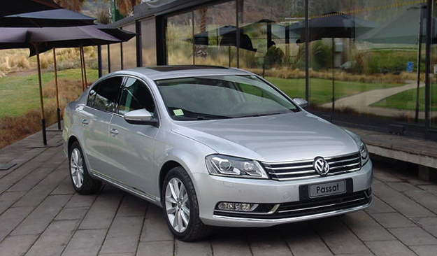Volkswagen Passat 2012: Inicia venta en Chile