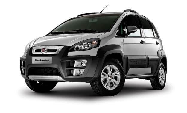 Nuevo Fiat Idea: moderno y elegante de fuerte personalidad