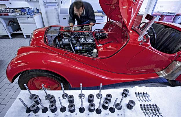 BMW Classic Center, servicio para autos antiguos