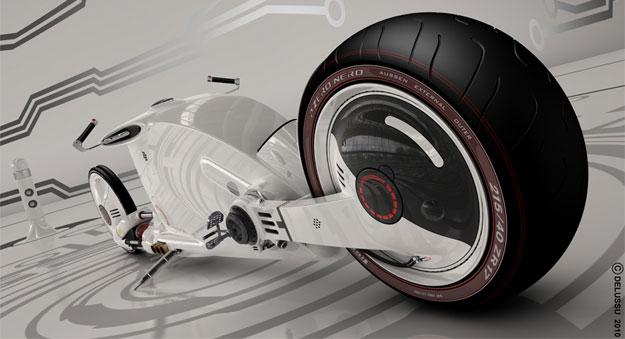 Snake Road Concept una moto para un futuro muy lejano