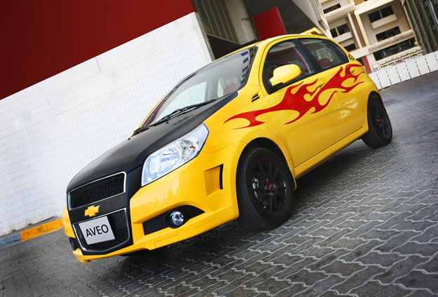Tuning: Modifica tu Chevrolet Aveo en línea
