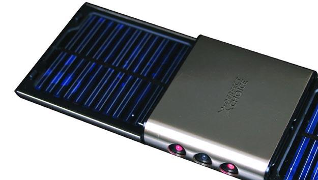 Batería solar para recargar múltiples accesorios