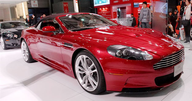 Aston Martin DBS Volante: Primicia: Fotografías en vivo