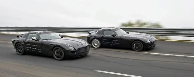 "Mercedes SLS AMG: pinta linda esta nueva ""bestia"""