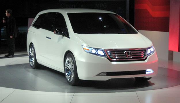 Honda Odyssey Concept debuta en el Salón de Chicago 2010