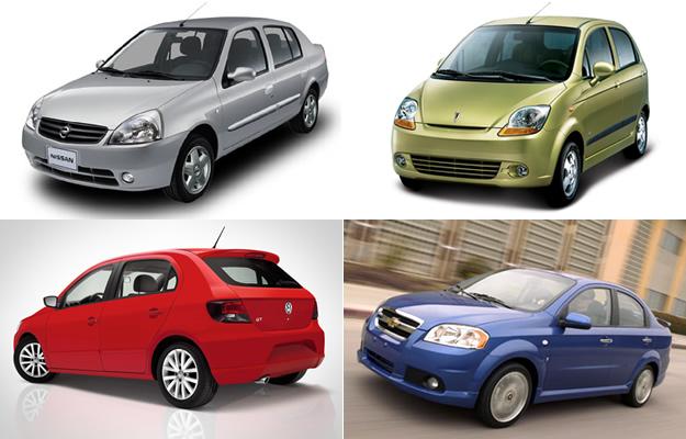 ¿Qué autos me puedo comprar con menos de $155,000 pesos?