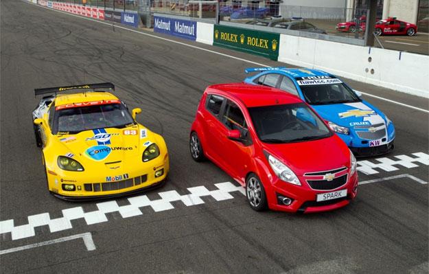 Chevrolet Spark turbo, el auto de seguridad del WTCC