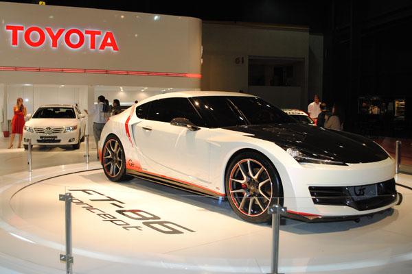 Toyota FT-86 G Sport Concept, belleza nipona en el Salón de Buenos Aires