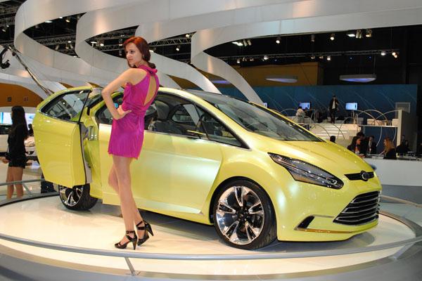 Ford Iosis Max Concept dinamiza el Salón de Buenos Aires