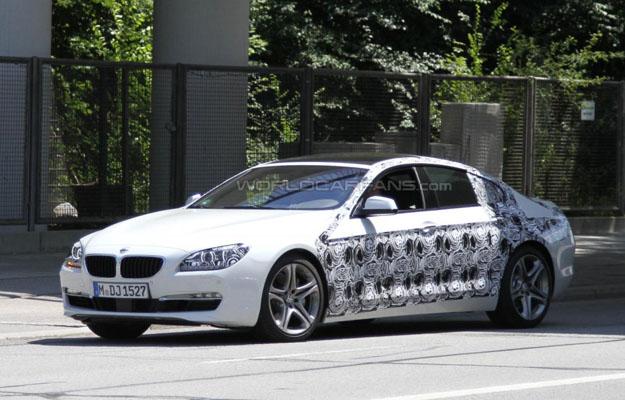 BMW Serie 6 cuatro puertas fotos espía