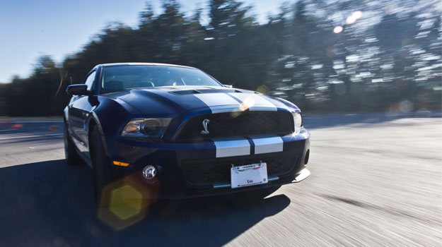 Ford Mustang Shelby GT500 2011 a prueba