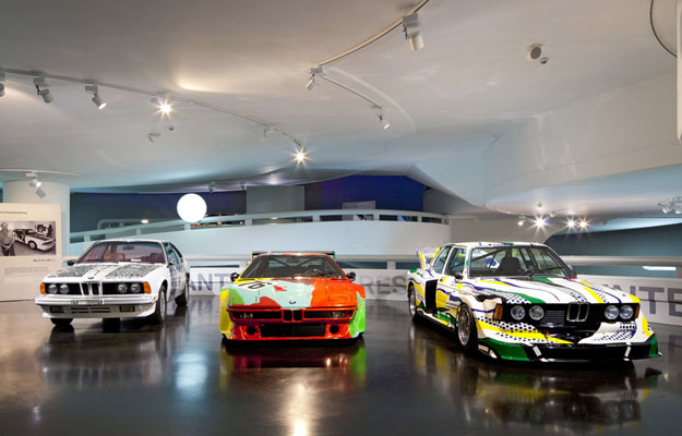 BMW abre una muestra virtual de sus Art Cars