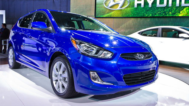 Hyundai Accent 2012 debuta en Nueva York