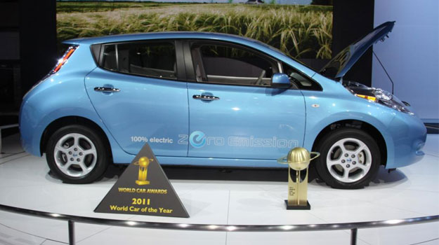Nissan Leaf es el World Car of the Year 2011