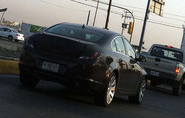 Captamos al Buick Regal 2012 en México