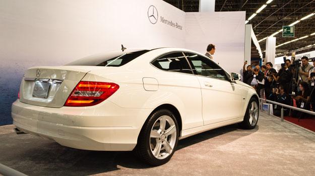 Mercedes-Benz Clase C Coupé 2012 debuta en el Salón de Guadalajara 2011