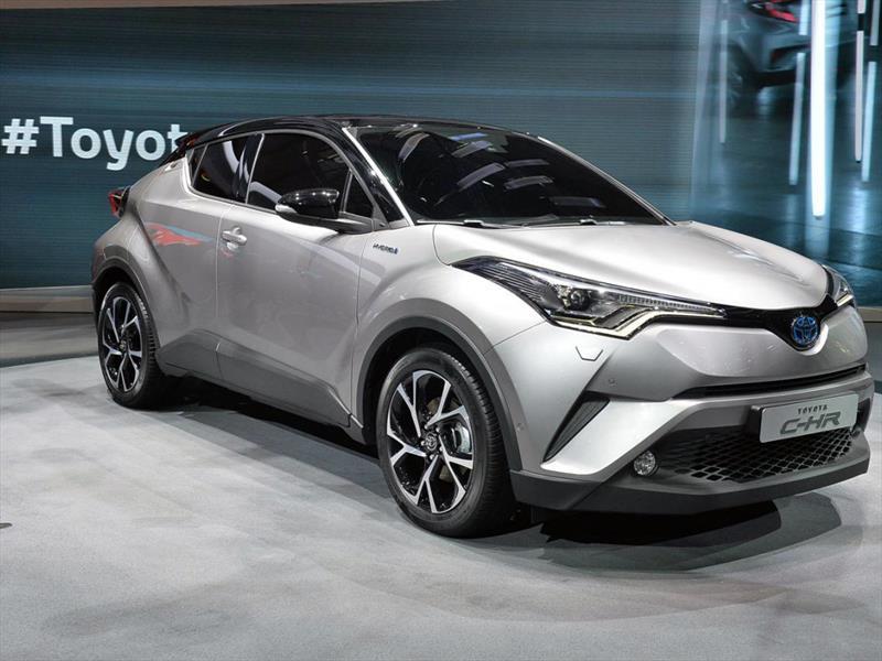Toyota c hr 2017 rival directo de los nissan juke y honda for Nissan juke vs honda hrv