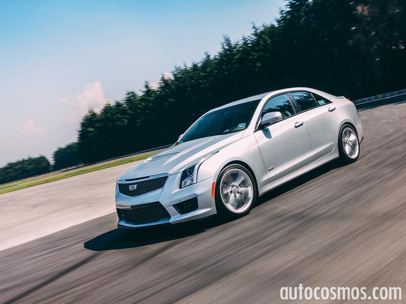 Manejamos el Cadillac ATS-V 2016