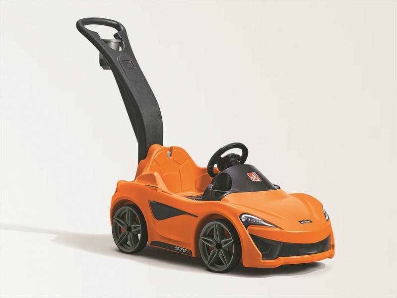 McLaren 570S Step2 Push Sports Car es un adorable deportivo para niños