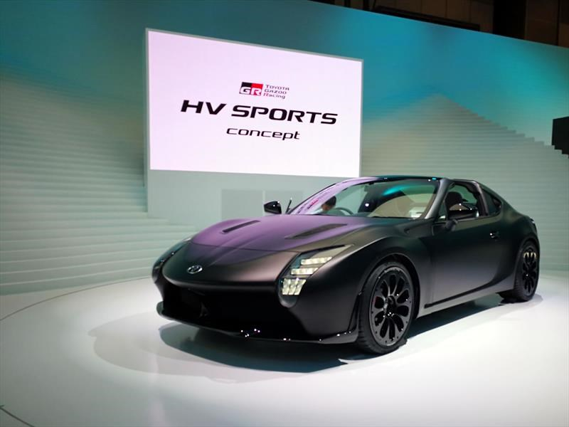 Toyota GR HV Sports Concept debuta