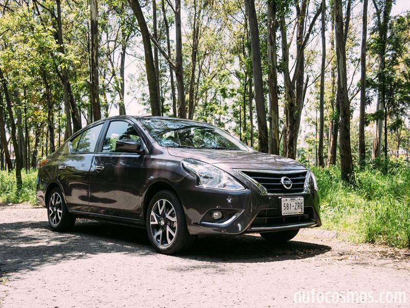 Nissan Versa a prueba
