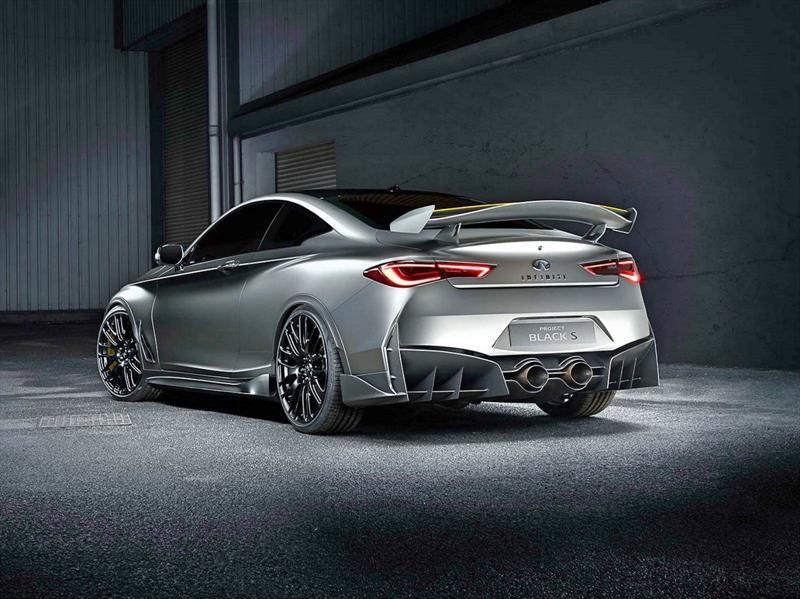 Infiniti Q60 Black S Concept, inspirado en la Fórmula 1