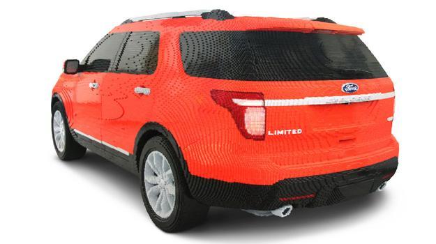 Construyen Ford Explorer 2012 con piezas de LEGO