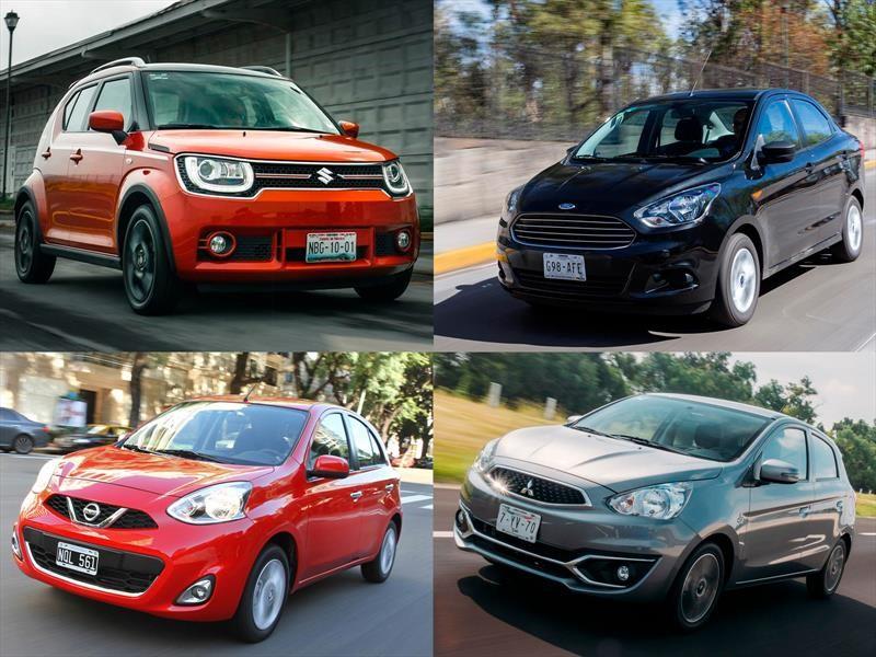 Los 10 Autos Mas Baratos En Mexico Para 2018 Autocosmos Com