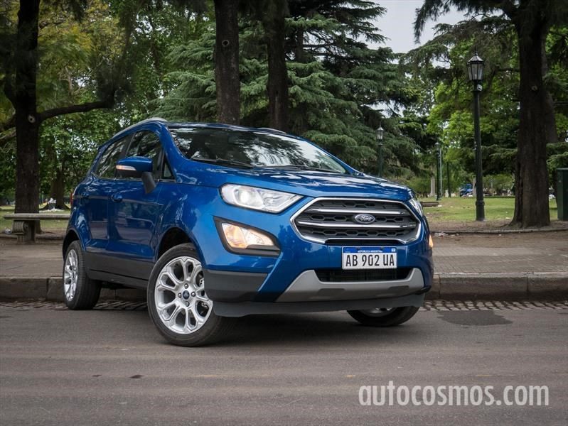 Prueba Ford Ecosport 1.5L: 3 no son multitud