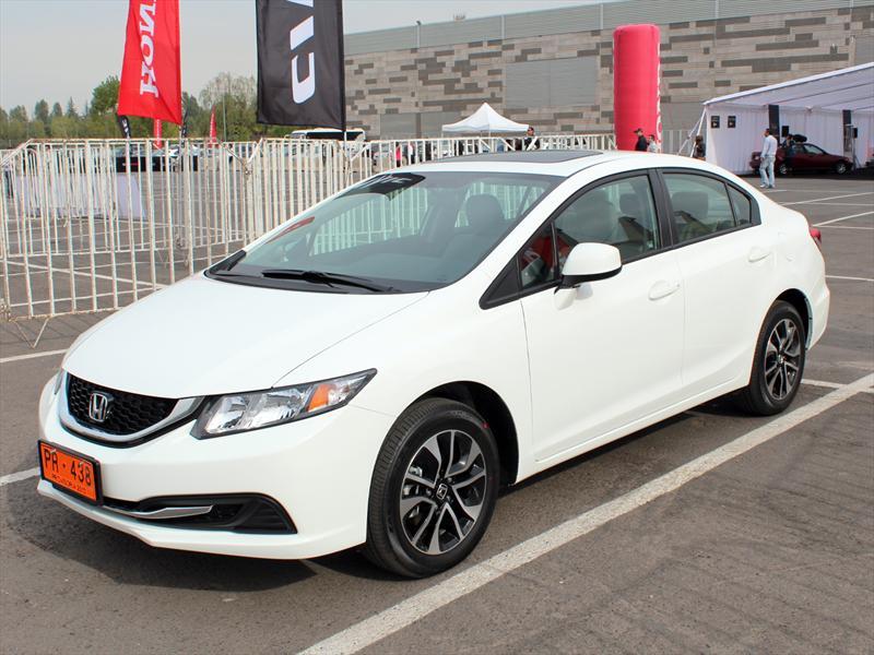 Honda Civic 2013 Inicia Venta En Chile Autocosmos Com