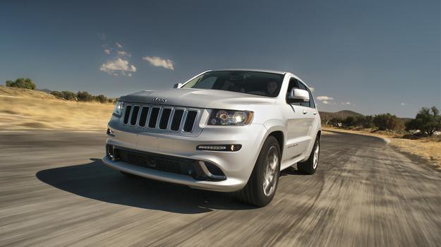 Jeep Grand Cherokee SRT8 2012 a prueba