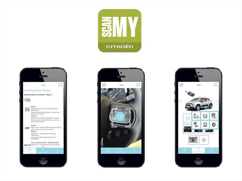 Citroën crea una aplicación interactiva para smartphones